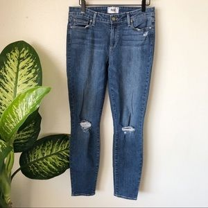 Paige | Verdugo Ankle Distressed Jeans